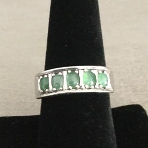 Jade band 925 sterling authentic